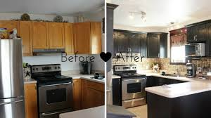 Small Kitchen Color 30 Small Kitchen Makeovers Before And After Home Interior And Design