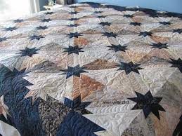 35 best Hunter's Star Block images on Pinterest | Star quilts ... & Last summer, my friend Colleen and I decided to take the Hunter Star class  at Along Came Quilting . Here& a photo of the class sample, m. Adamdwight.com