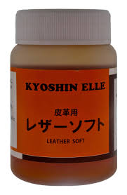 kyoshin elle water leather softener leathercraft easy carve stamping treatment