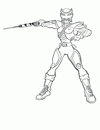 Free Printable Power Rangers Coloring Pages For Kids Samurai Dojo