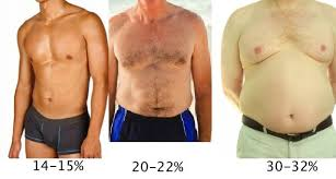 Body Fat Men Chart Body Fat Percentage Guide 7 Ways To Measure And Lower It