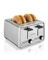 Retro Toasters amazon hamilton beach modern chrome 4slice toaster 24791 5345 by uwakikaiketsu.us