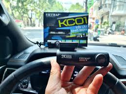 Camera hành trình KC01 - Ghi hình trước sau super HD 2K
