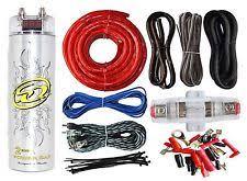 amp wiring kit 4 gauge amp kit amplifier install wiring 2 farad digital capacitor 2300w peak