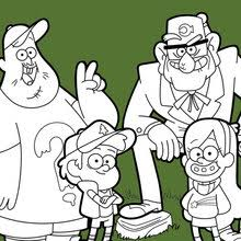 Welcome To Gravity Falls Coloring Pages Hellokidscom