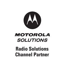 motorola solutions logo vector. authorized radio solutions channel partner of motorola logo vector