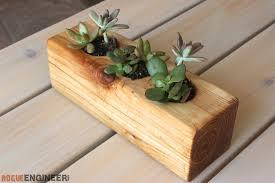diy s wood succulent planter rogue engineer 3