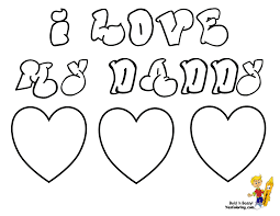 I Love My Daddy Coloring Pages Cool Father Day Coloring Pages ...