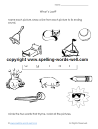Phonics teaches a student to read by using the sounds of the letters in a word. A Kindergarten Worksheet For Learning Fun