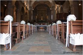 Of Wedding Decorations In Church Church Wedding Decorations Ideas For Your Wedding In Italy