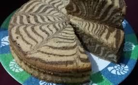 Resep ny liem rainbow cake. Resep Zebra Cake Putih Telur Cute766