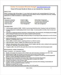 Senior Accountant Resume 33 Accountant Resume Samples