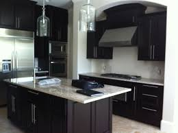 Kitchen Floor Lights Dark Kitchen Cabinets And Tile Floors Quicuacom