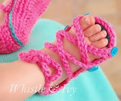 Crochet Baby Sandals Pattern Fascinating 48 Adorable Crochet Baby Sandals With Free Patterns 48