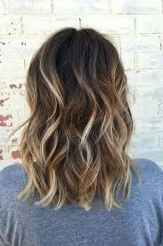 Blonde in brown hair