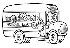 Small Picture Awesome Coloring Pages Of School Buses Photos Coloring Page