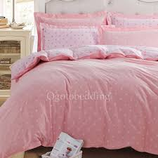 pink polka dots unique cute dreamy girls duvet covers
