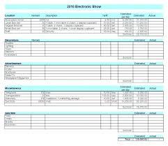Sample Event Budget Inspiration School Budget Template Excel