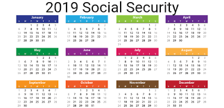 Ssi Disability Pay Chart 2019 Social Security Payment Schedule Optimize Your Retirement