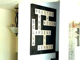 large decorative black wall letters big wooden extra letter decor oversized