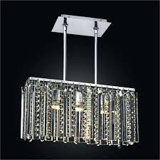 rectangle crystal chandelier 19th c rococo iron clear rectangular modern fabric