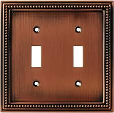 copper outlet covers. Beautiful Outlet 1 Beaded Aged Brushed Copper Switch Plate U0026 Outlet Vendor Widest  Selection In Stock Immediate Free Shipping And Covers