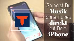 Die apple music app ist standardmäßig auf dem iphone installiert und sie können mit der app arbeiten, sobald sie das iphone, ipad und ipod aus der schachtel nehmen. So Holst Du Musik Ohne Itunes Direkt Auf Dein Iphone