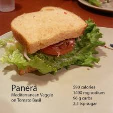 Panera Bread Nutrition Chart Panera Bread Worse Than A Big Mac Fooducate