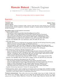 Network Engineer Resume Sample Michael Resume