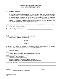 appointment of agent form fillable appointment form pdf edit online print download forms