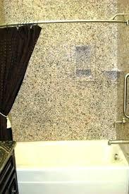 tub shower surround ideas walls options combination enclosures bathtub surrounds one piece idea