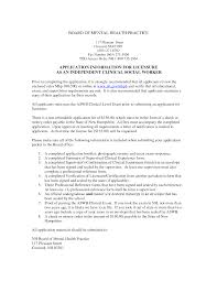 Resume Social Worker Resume