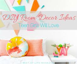 diy room decor ideas for teens girls