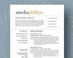 Etsy Resume Template Best Of Resume Template Etsy