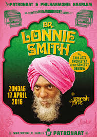 Poster A0 for Dr. Lonnie Smith at Patronaat, Haarlem on Behance