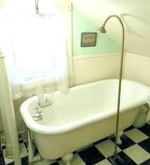 clawfoot bath tub shower claw foot bathtub faucet used bathtub fantastic used tub shower kit tub