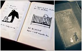 delicious reads the book thief by markus zusak book club ideas when i finished the book thief i did what many of you have also done i shut the book sat on the couch in a ball to think about what i had