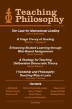 semi new ejournal subscription teaching philosophy university  tpcover2011