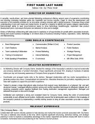 Marketing Resume Sample Impressive Top Marketing Resume Templates Samples