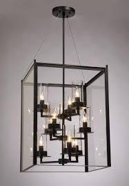 foyer lighting fixtures black