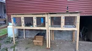 sectional rabbit hutch plan presented on instructables