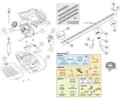 Genie Garage Door Light Not Working Garage Door Opener Parts Schematic Diagram Daily Update