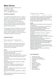 Education On Resume Format Education Resume Builder Teacher Template