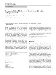 Identifying Attributes Associated With Brown Bear Ursus Arctos