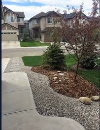 stone landscaping ideas in front yard