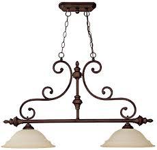 capital lighting 3077bb chandler burnished bronze 2 light island lighting loading zoom