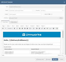 Email Address Templates Templates Linnworks