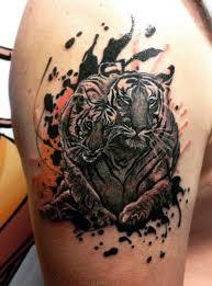 100 Tygr Tetování Vzory Pro Muže Král Zvířat A Džungle