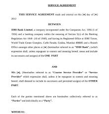 Simple Service Contract 26 Service Agreement Examples Pdf Word Examples