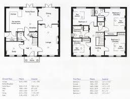 4 bedroom floor plans. Exellent Bedroom 4 Bedroom House Floor Plans Capitangeneral Simple  Throughout O